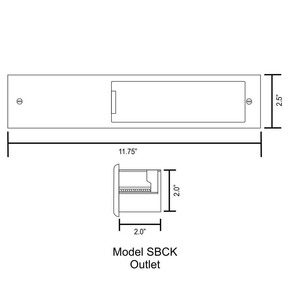 PowerBridge TWO-CK Dual Outlet for TV and Sound-Bar Recessed In-Wall Cable Management System Kit (TWOSB-CK) by PowerBridge Solutions (Image #13)