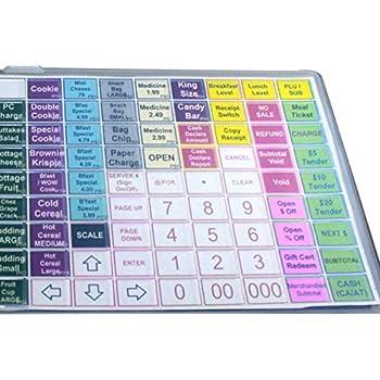 sam4s sps 520 flat keyboard cover silicone skin sps 520 sps 520 cash register. Black Bedroom Furniture Sets. Home Design Ideas
