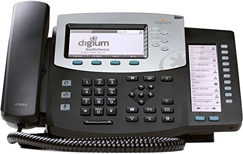 Digium Inc. Phone, D70 6-Line SIP with HD Voice, Backlit Display, International Version, Icon Keys 1TELD071LF by Digium