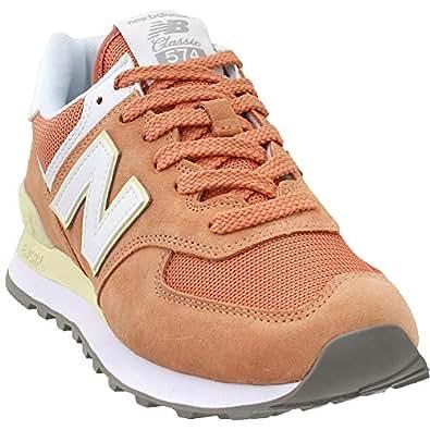 New Balance Wl574 Womens Shoes 6 B(M) US Women Faded Copper Sun Glow