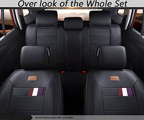 Empire Car Covers: INCH EMPIRE Adjuatable Easy To Clean PU Leather Car Seat