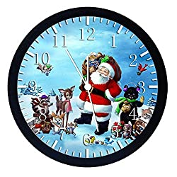 Extra Large Size 14 Santa Claus Wall Clock Home Office Decor or Nice For Gift W111