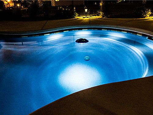 In-Ground & Above Ground Swimming Pool LED Floating Light w/ Bluetooth Speaker