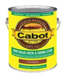 Cabot Stains, Redwood, Semi-Solid Deck & Siding Stain, 17480-07