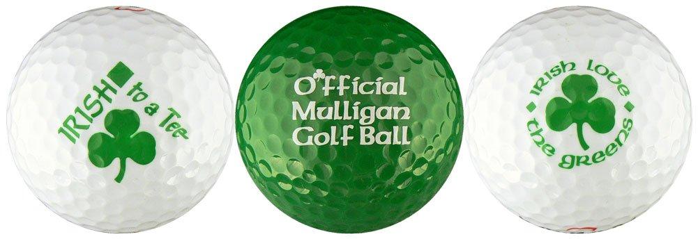 EnjoyLife Inc Irish w Mulligan Variety Golf Ball Gift Set
