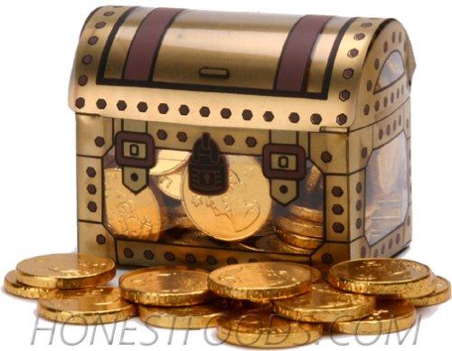 Pirate Treasure Chest Full of Gold