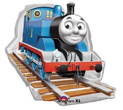 The Ultimate Thomas the Train Engine 2nd Birthday Party Supplies and Balloon Decorations Mayflower