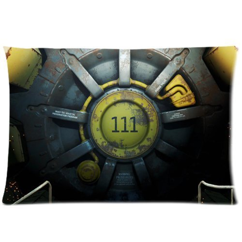 Fallout 4 Vault 111 Custom Zippered Pillow Cases 20'x 30'(Twin sides)