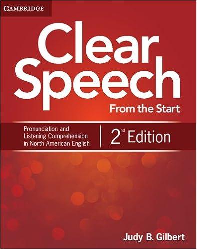 Clear Speech Judy Gilbert Pdf