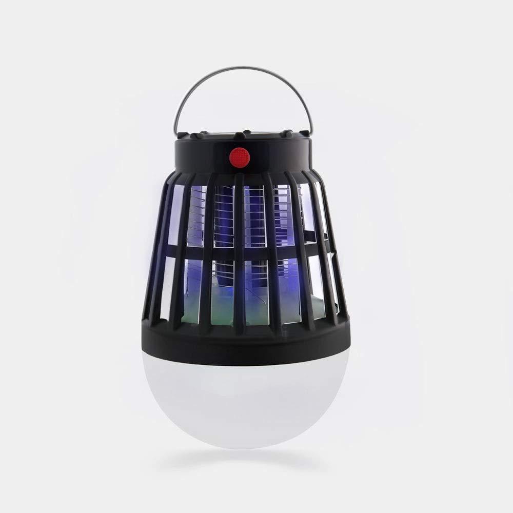 キャンプのランタンの虫のザッパーのテントライト - 手が付いている2200mAh充電電池が付いている携帯用カのキラーLEDのランタン B07RVC52SL