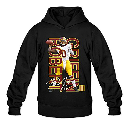AK79 Men's Hoodies Robert Griffin Iii Redskins Size M Black