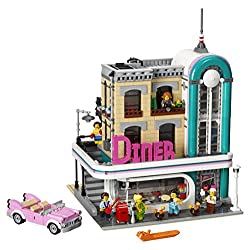 LEGO Creator Expert Downtown Diner 10260 Building Kit (2480 Piece), Multi