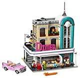 LEGO Creator Expert Downtown Diner 10260 Building Kit, Model Set and Assembly Toy for Kids and Adults (2480 Piece)
