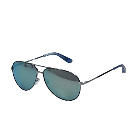 47e11b850708e Marc Jacobs Sunglasses 227 O08 SK Blue Ruthenium Blue Mirror  Amazon.ca   Luggage   Bags