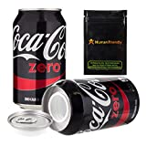 Coke Zero Diversion Safe Stash Can 12 oz w HumanFriendly Smell Proof bag