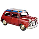 Retro Handicraft- Vintage Iron Car Models, Handmade Classic Vehicle Models for Birthday Gift/Home Decor/Ornament/Desktop Decoration - Multiple Style Options (GY-M001)