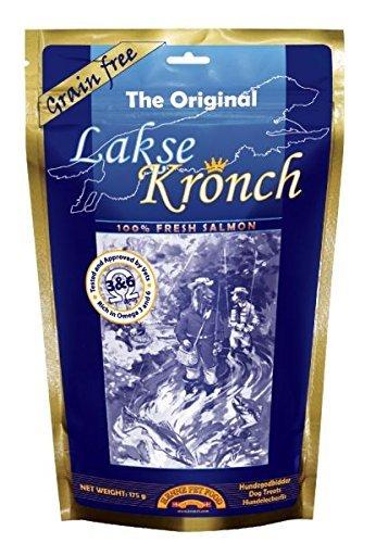 Image of Lakse Kronch Salmon Dog Treats, 175 gram Bag