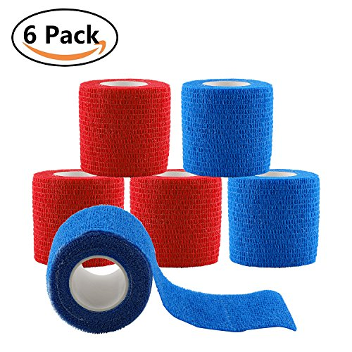 Adhesive Elastic Bandage Self Adhering Stick Athletic Tape Wrap/Vet Tape Wrap - 2