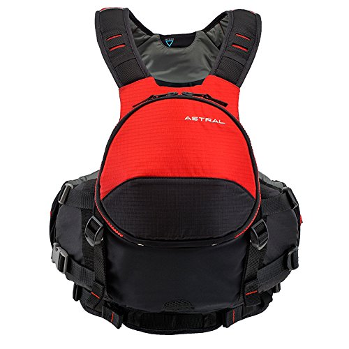 Astral BlueJacket Life Jacket PFD for Sea, Whitewater, Fishing, and Tour