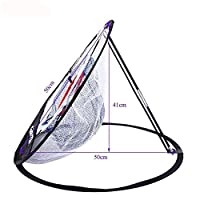 Naturespace Portable 20 Inch Golf Training Chipping Net Hitting Aid Practice in/Outdoor Bag