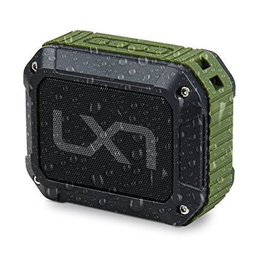 LX7 Portable Wireless Outdoor Bluetooth Speaker IPX5 Waterproof with HD Enhanced Bass, 1800mAh Built-in Rechargeable Battery,66 FT Bluetooth Range & Built-in Mic, for Party, Travel]()