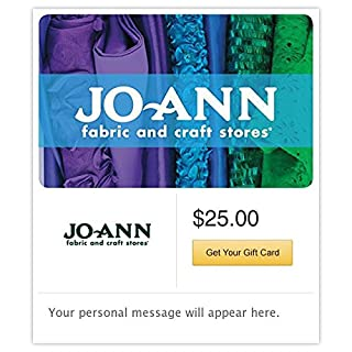Jo-Ann Fabric and Craft Stores Gift Cards - E-mail Delivery (B00PABVTS6) | Amazon Products