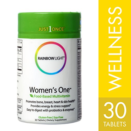 Rainbow Light - Women's One Multivitamin, 30 Count, One-a-Day Nutritional Support