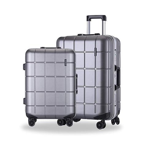 Maleta Cajas de Trolley de Equipaje de Viaje de celosía Diseño de Equipaje rígido de 2