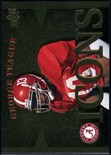 George Icon (Football NFL 2012 Upper Deck University of Alabama Icons #IGT George Teague)