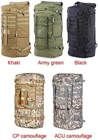 Greenpromise Outdoor 60L Military Bag Durable Unisex Taktischer Rucksack Tasche Oxford Schultertasche für Camping Wandern Klettern