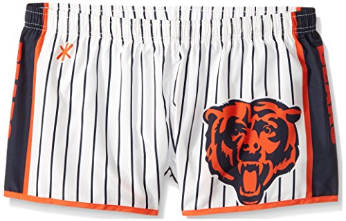 (Chicago Bears Womens Pinstripe Polyester Short Small)