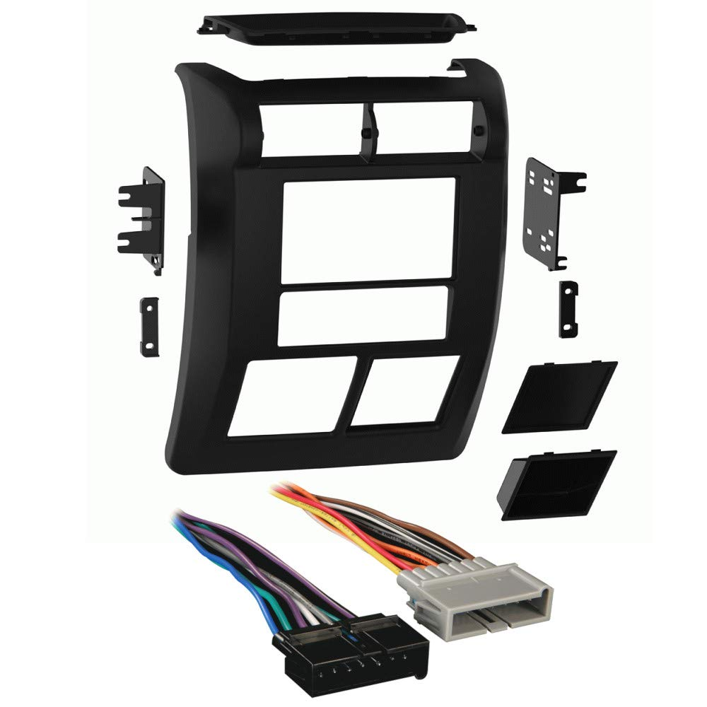Metra 95-6549 2-DIN Dash Kit for Select 1997-2002 Jeep Wrangler with Harness Combo