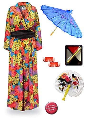 Harmo (Plus Size Geisha Halloween Costumes)