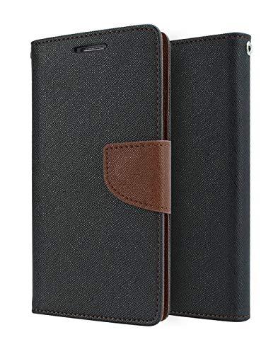 BORSU Wallet Mercury Flip Cover  Brown  for Oppo F3