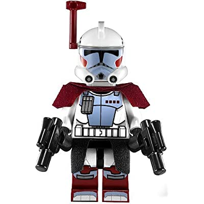 Lego Star Wars Minifigure Elite ARC Trooper (2012) With Kama Cloth and Blasters from Set 9488: Toys & Games
