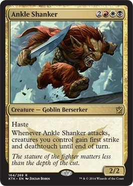 Ankle Mint (Magic: the Gathering - Ankle Shanker (164/269) - Khans of Tarkir)