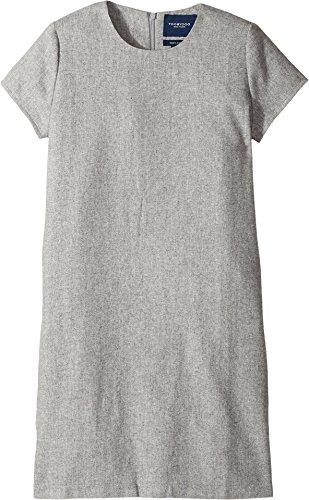 Toobydoo Baby Girl's Shift Dress (Toddler/Little Kids/Big Kids) Grey -