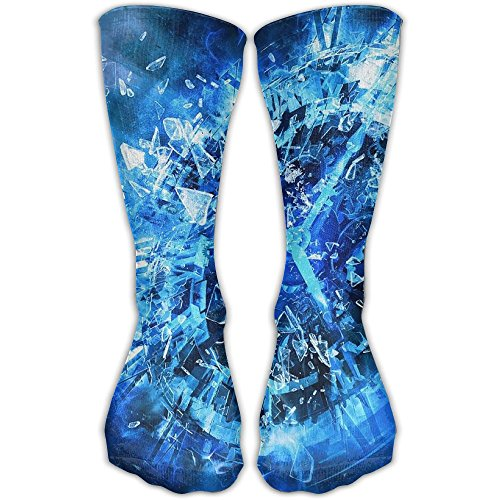 Sport Tube Stockings Glass Fragments Women & Men Knee High Long Soccer - Killeen Glass