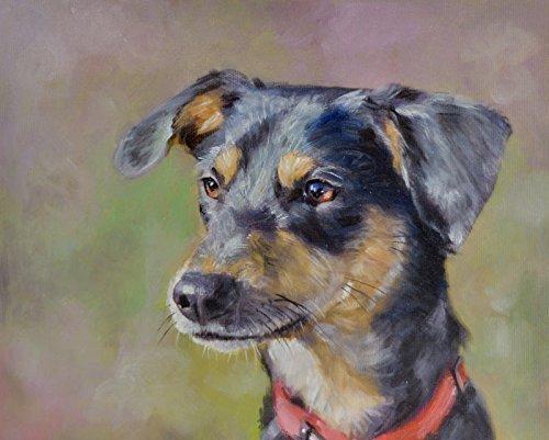 portrait Custom painting canvas larger product image