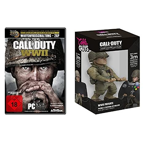 Call of Duty: WWII - Standard Edition - [PC] + Cable Guy Ronald Red Daniels