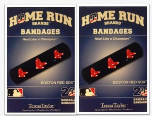 Boston Red Sox Bandages x 2 box (total 40 (Sox Tattoo)