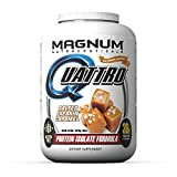 Magnum Nutraceuticals Quattro Protein Powder – 4lbs – Salted Freakin Caramel – Protein Isolate – Lean Muscle Creator – Metabolic Optimizer Review