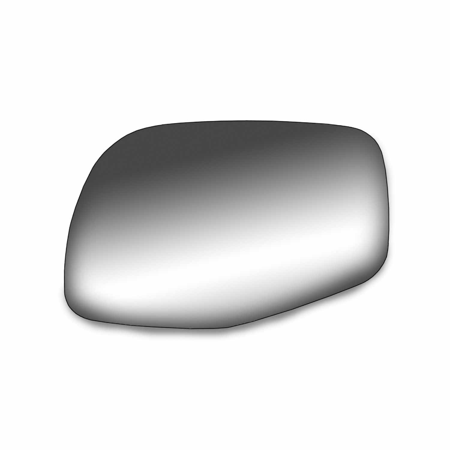 Fit System 99035 Ford//Mazda//Mercury Driver//Passenger Side Replacement Mirror Glass