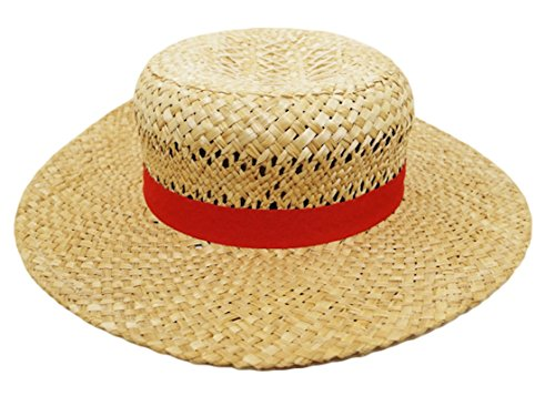 "Scratching on ""straw hat Luffy"" buggy (official anime one piece ONE PIECE) Monkey D Luffy cosplay Hat"