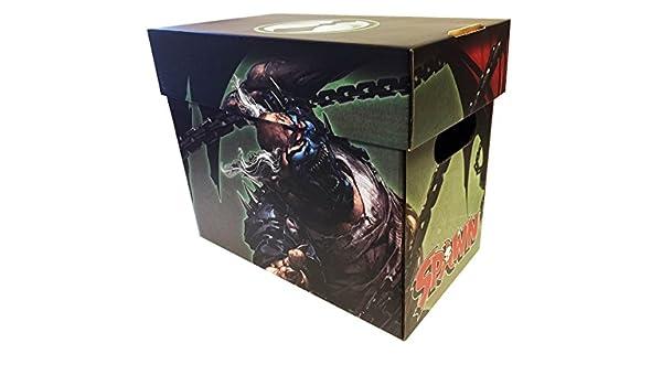 5 Pack engendro vs Violator - Producto oficial con licencia corto Comic cajas de almacenamiento: Amazon.es: Oficina y papelería