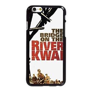 Y9P41 El puente sobre el río Kwai alta resolución cartel W6C5YK iPhone funda 6 Plus 5.5 pulgadas funda caja del teléfono celular cubre DL5HHF5QQ negro