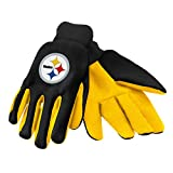 Forever Collectibles 74213 NFL Pittsburgh Steelers Colored Palm Glove