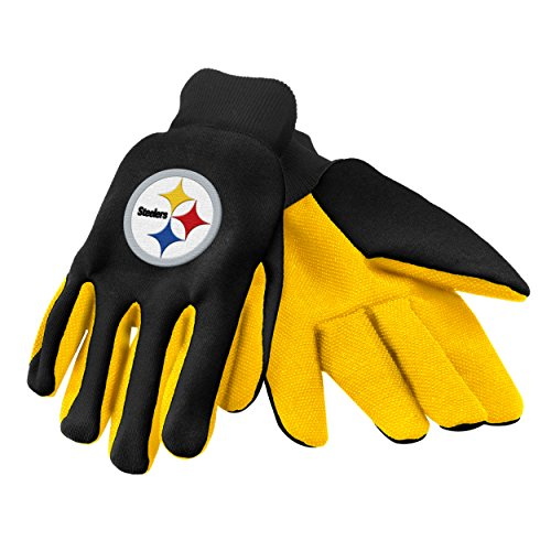 - Forever Collectibles 74213 NFL Pittsburgh Steelers Colored Palm Glove