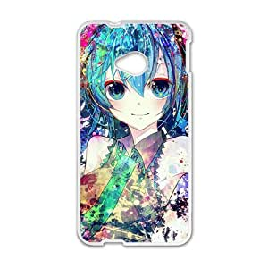 Happy Sexy girl Phone Case for HTC One M7 case