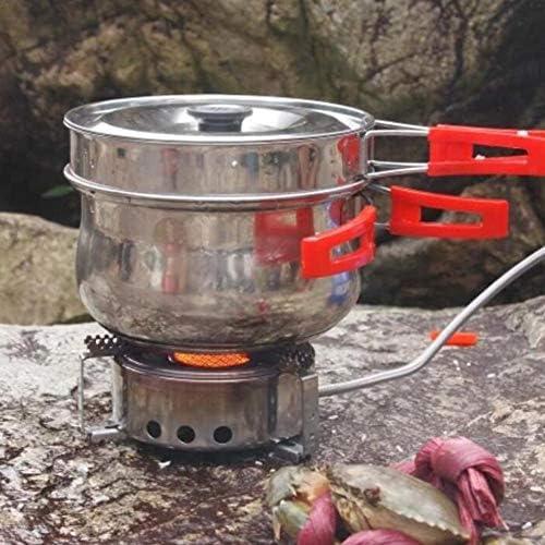 Motto.h - Hornillo de Camping de Gas portátil y Plegable con ...